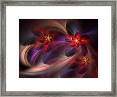 Flora Essence Framed Print