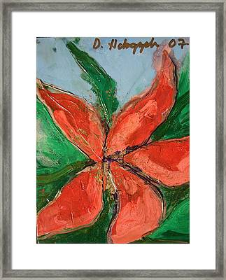 Flora Exotica A Framed Print by Dodd Holsapple