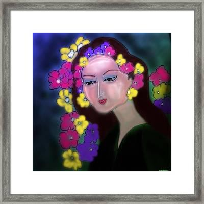 Flora Framed Print by Latha Gokuldas Panicker