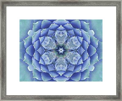 Flora Muse Mandala Framed Print