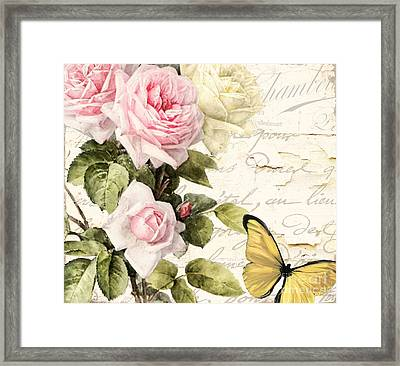 Florabella II Framed Print by Mindy Sommers