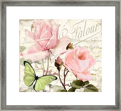Florabella IIi Framed Print by Mindy Sommers