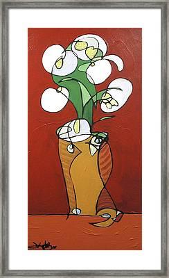 Floral 32 Framed Print