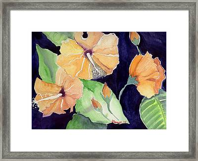 Floral Affair Framed Print by Janet Doggett