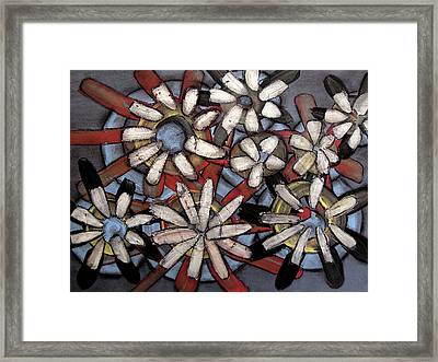 Floral Framed Print by Ariela