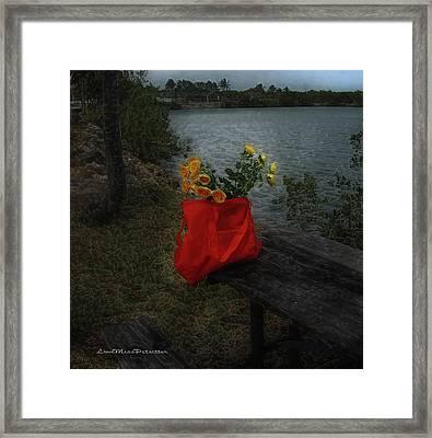 Floral Art 11 Framed Print