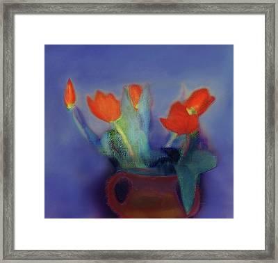 Floral Art 18 Framed Print