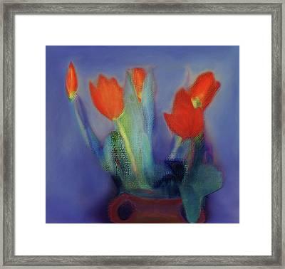 Floral Art 19 Framed Print