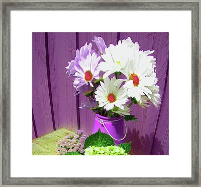 Floral Art 335 Framed Print