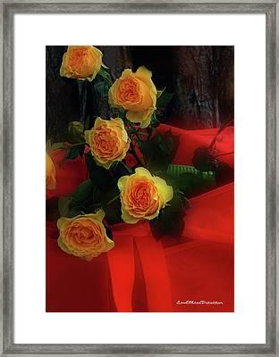 Floral Art 7 Framed Print