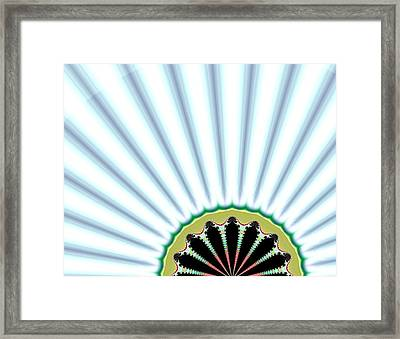 Floral Breeze Framed Print by Thomas Smith