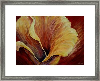Floral Close Up Framed Print
