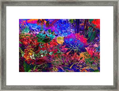 Floral Dream Of Summer Framed Print