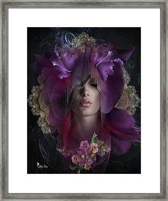Floral Dreams Framed Print