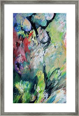 Floral Enchantment Framed Print