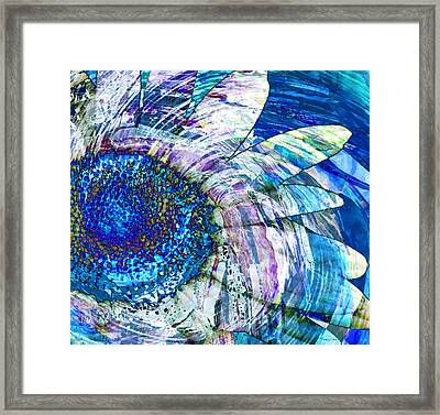 Floral Energy Framed Print
