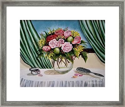 Floral Essence Framed Print by Elizabeth Robinette Tyndall