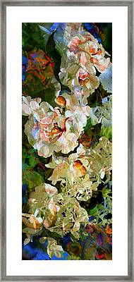 Floral Fiction Framed Print