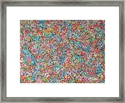 Floral Flow Framed Print