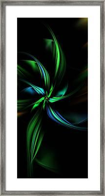 Floral Fractal 040710 Framed Print