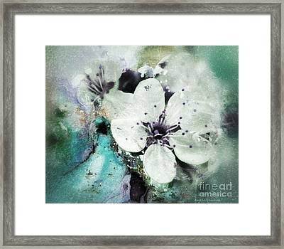 Floral Haze Framed Print