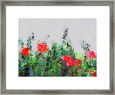 Floral Illusions Framed Print