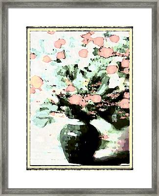 Floral Images Framed Print by HollyWood Creation By linda zanini