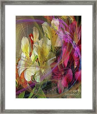 Floral Inspiration Framed Print by John Beck