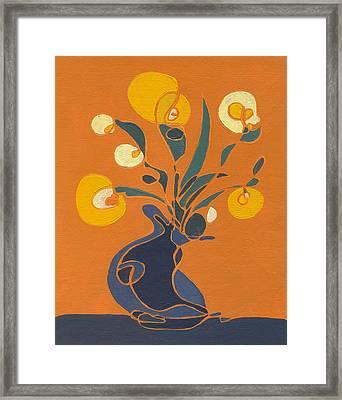 Floral Ix Framed Print