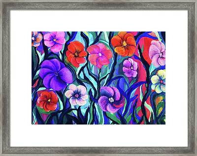 Floral No. 1 Framed Print by Jeanette Stewart