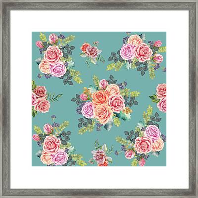 Floral Pattern 2 Framed Print