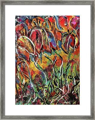 Floral Sensation Framed Print