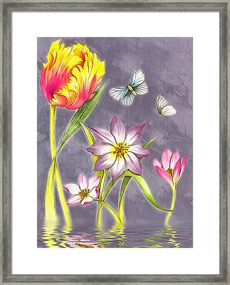 Floral Supreme Framed Print by Mario Carini