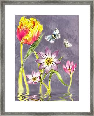 Floral Supreme Framed Print