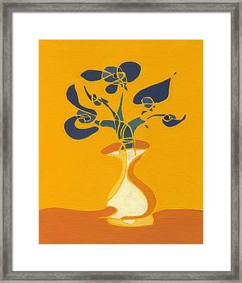 Floral Xi Framed Print