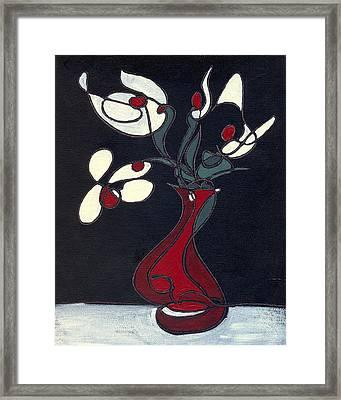 Floral Xv Framed Print