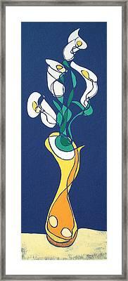 Floral Xxi Framed Print