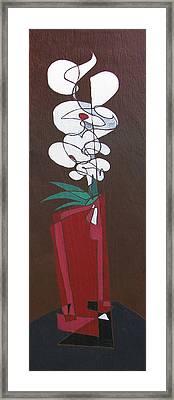 Floral Xxii Framed Print