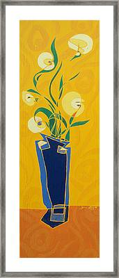 Floral Xxiv Framed Print
