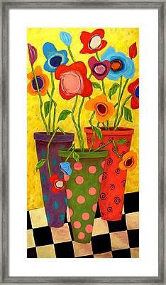 Floralicious Framed Print