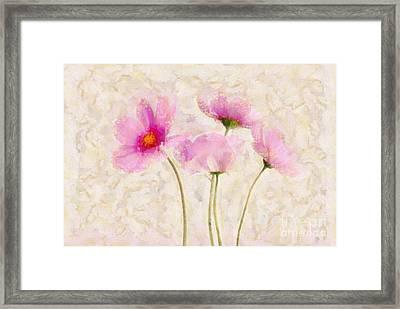 Floralitou - 134w Framed Print