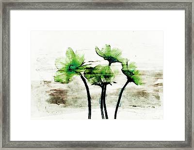 Floralitou - 1432a-c03 Framed Print by Variance Collections