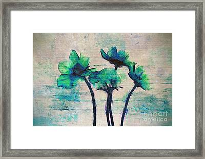 Floralitou - 3664-12bb Framed Print by Variance Collections