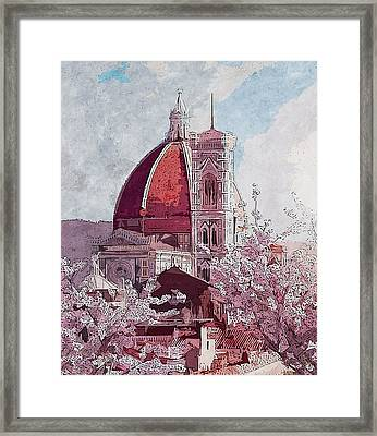 Florence - 16 Framed Print