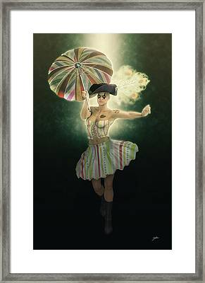 Florence Carnival Framed Print by Joaquin Abella