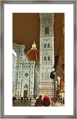 Florence Duomo Framed Print by Harriet Harding