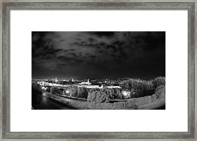 Florence From Above Framed Print
