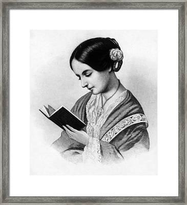 Florence Nightingale 1820-1910, English Framed Print