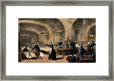 Florence Nightingale, Nurse And Reformer Framed Print by Wellcome Images