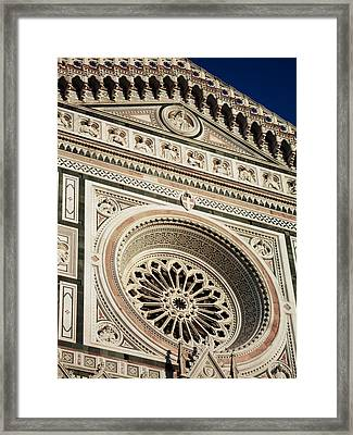 Framed Print featuring the photograph Florence by Silvia Bruno